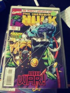 Incredible Hulk  # 456 SEPT   1997 , Marvel  HULK  IS APOCALYPSE HORSEMAN WAR