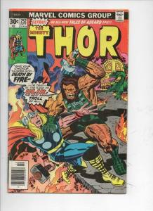 THOR #252 FN God of Thunder Troll Ulik Buscema 1966 1976, more Thor in store