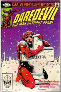 DAREDEVIL 182 VG  May 1982