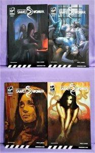 Zeb Wells Shekhar Kapur's SNAKE WOMAN #7 - 10 Vivek Shinde (Virgin, 2007)!