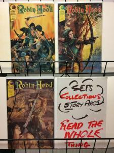 ROBIN HOOD (1991 EC) 1-3 VALERIE JONES/ TRUMAN/ SCHENCK