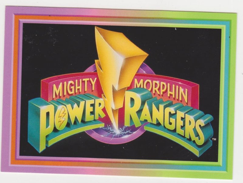 1994 Mighty Morphin Power Rangers Complete Set
