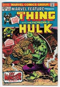 Marvel Feature #11 | Thing vs Hulk (Marvel, 1973)