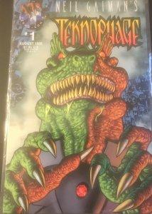 Teknophage Issue No. 1 (Aug. 1995) Neil Gaiman