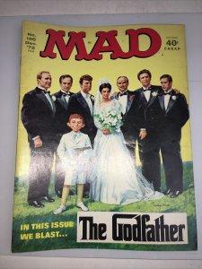 Mad Magazine Dec 1972 No. 155 The Godfather