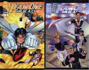 TEAM ONE WILDCATS (1995 IM) 1-2 complete WildCATS tiein COMICS BOOK