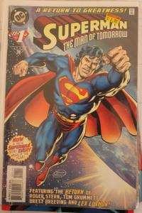 Superman the Man of Tomorrow 1 NM