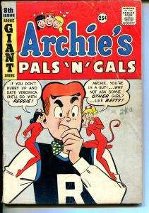 Archie's Pals 'n' Gals #8 1959-Archie-Betty & Veronica bad influence cover-VG