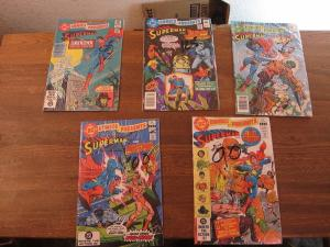 DC Comics presents Superman and … #42 43 44 45 46 Very Fine (8.0) (388J)