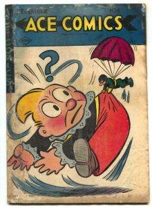 Ace Comics #105 1945- Phantom- Blondie FAIR