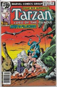 Tarzan   (Marvel)   #22 VG Sal Buscema/Mooney, John Buscema cover