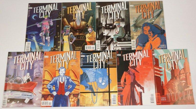 Terminal City #1-9 VF/NM complete series - dean motter - vertigo comics set lot
