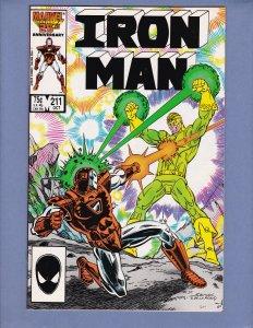 Iron Man #211 VF/NM Marvel 1986