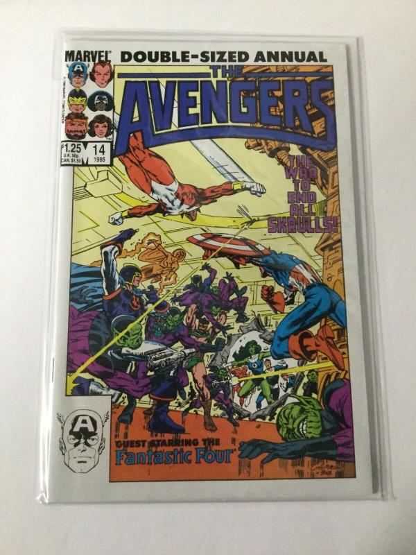 The Avengers 14 Double Sized Annual NM Near Mint Marvel