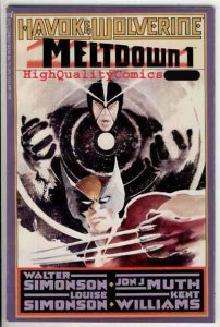 MELTDOWN #1, NM+, Havok, Wolverine, Jon Muth, Simonson, Marvel, 1988