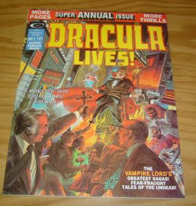 Dracula Lives! Annual #1 VF neal adams - marv wolfman - roy thomas - marvel 1975