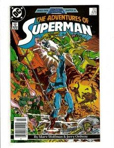 12 Adventures of Superman DC Comics 426 431 432 433 434 435 436 437 438 + HG3