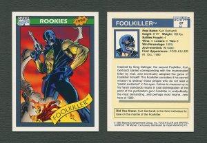 1990 Marvel Comics Card  #87 (Foolkiller) / MINT