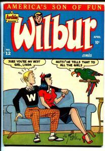 Wilbur #12 1947-MLJ-spicy Good Girl Art-Katy Keen-Bill Woggon-lingerie poses-VF