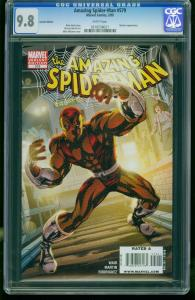 AMAZING SPIDER-MAN #579 2009--CGC GRADED 9.8-variant edition-  0216538021