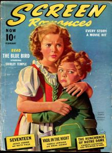 Screen Romances 2/1940-Dell-Shirley Temple-Johnny Russell-Mickey Rooney-G/VG