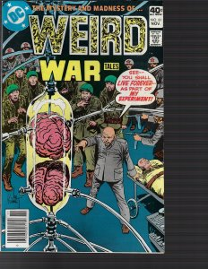 Weird War Tales #81 (DC, 1979) VF/NM