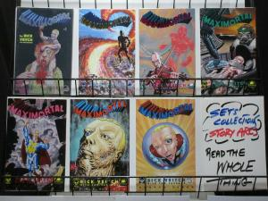 MAXIMORTAL 1-7  Rick Veitch Superman on acid !