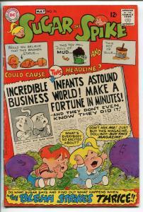 SUGAR AND SPIKE #76-1968-DC-SHELDON MEYER ART-PAPER DOLLS-vg