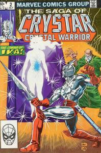 Saga of Crystar, The Crystal Warrior #2 VF/NM; Marvel   save on shipping - detai