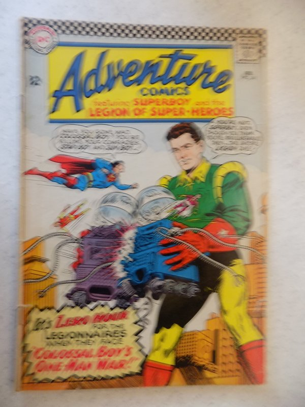 ADVENTURE COMICS # 341 DC ACTION SUPERBOY LEGION SUPER-HEROES