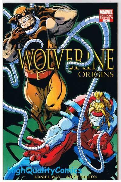 WOLVERINE : ORIGINS 6, NM, Dan Way, Omega Red, Variant, 2006, more in store