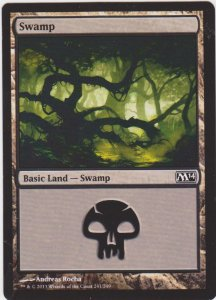Magic the Gathering: Magic 2014 - Swamp
