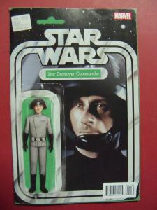 STAR WARS #009 ACTION FIGURE VARIANT  COVER NM 9.4 MARVEL COMICS 2015 SERIES