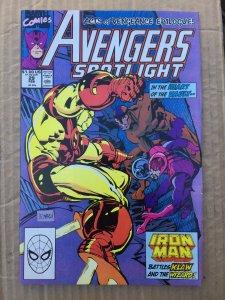 Avengers Spotlight #29 (1990)