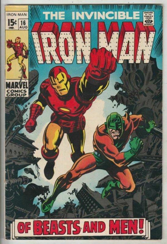 Iron Man #16 (Aug-68) VF/NM High-Grade Iron Man