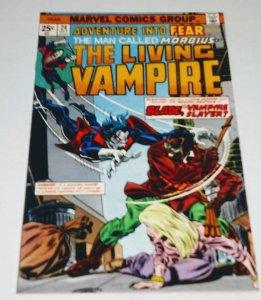 ADVENTURE INTO FEAR #24 Morbius Blade Bronze Age Marvel (id18a)