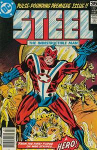 Steel, the Indestructible Man #1 FN; DC | save on shipping - details inside