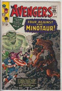 Avengers, The #17 (Jun-65) FN/VF+ High-Grade Avengers