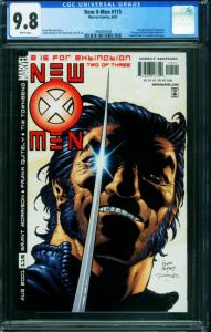 X-MEN #115 CGC 9.8 1st NEGASONIC TEENAGE WARHEAD 1994557005