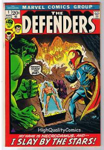 DEFENDERS #1, VF+/NM, Hulk, Dr Strange, Sub-Mariner, 1972, more in store