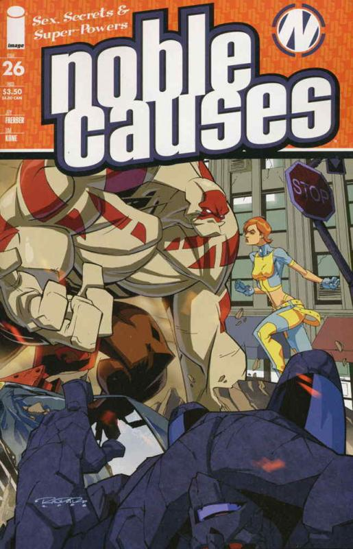Noble Causes (Vol. 3) #26 VF/NM; Image | save on shipping - details inside