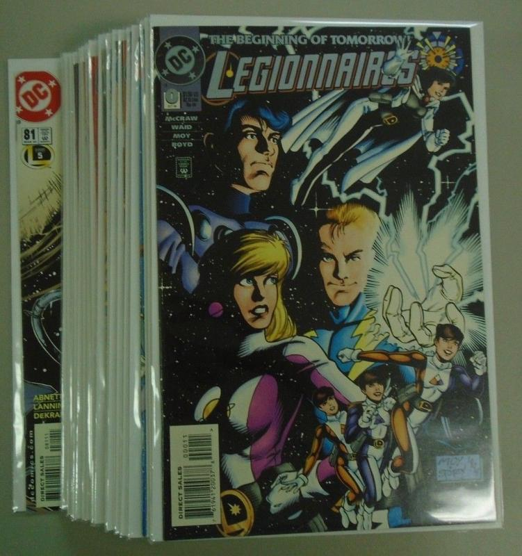 Legionnaires run #0 to #81 - includes #79 to #81 - 62 different - 8.0 - 1993
