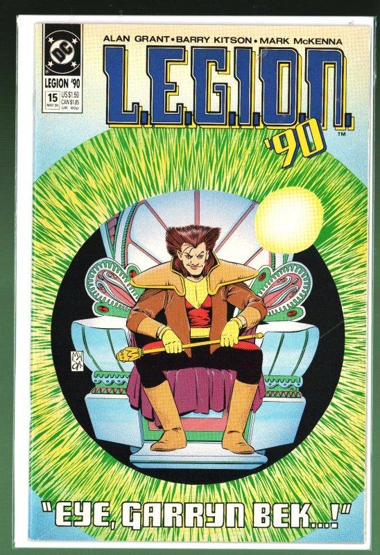 L.E.G.I.O.N. #15 (1990)