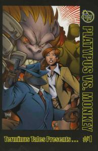 Terminus Tales Presents — Platypus vs Monkey #1 VF/NM; Terminus | save on shippi