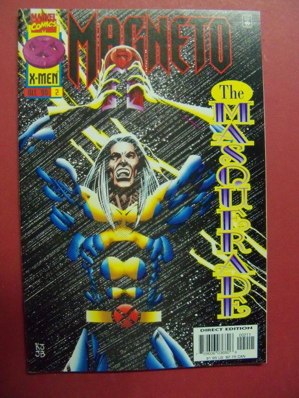 MAGNETO  #2  (9.0 to 9.2 or better)  MARVEL COMICS