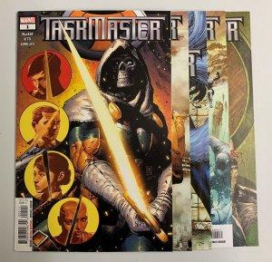 Taskmaster #1-5 (Marvel 2020) Jed MacKay (9.2+) 1st Taeguki/ Korean Taskmaster