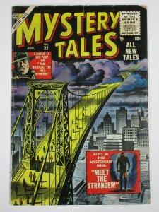 MYSTERY TALES  #32 (Atlas, 8/1955) VG VERY GOOD Golden Age Crime/Horror!