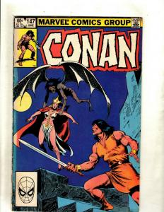 12 Conan Marvel Comics #147 159 168 174 187 202 207 212 213 215 216 217 J369