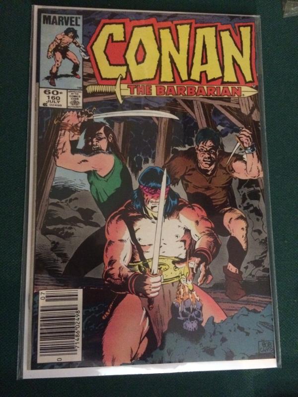 Conan The Barbarian #160