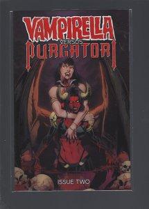 Vampirella VS Purgatori #2 Cover B